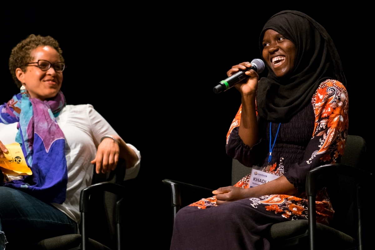 Kadijah Hussein of the Massachusetts Avenue Project at CommonBound